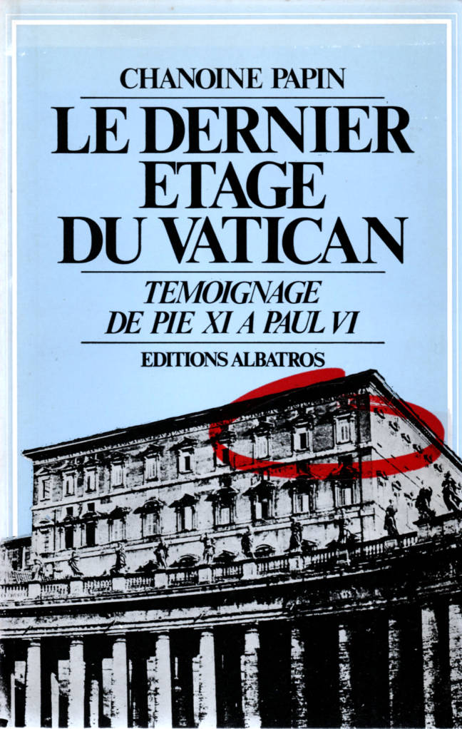 Le dernier étage du Vatican éditions Albatros