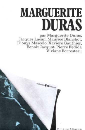 Marguerite Duras édition Albatros Collection Ça cinéma